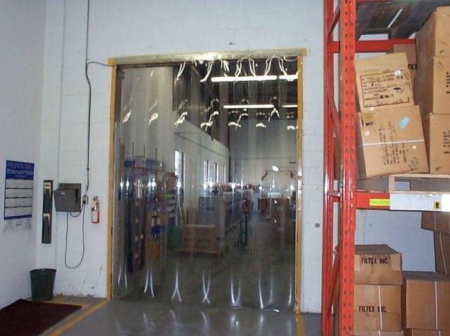 Transclair Strip doors